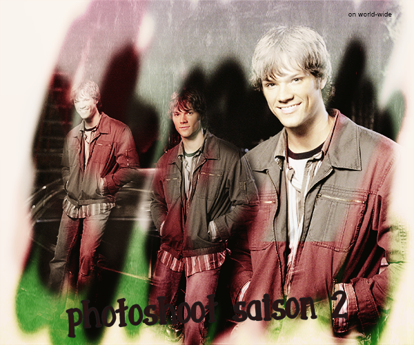 Photoshoot Promotionelle Saison 1 à 3 sam winchester on world-wide.sky