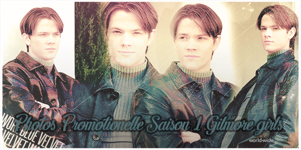 Photoshoot Promotionelle Saison 1 à 5 Dean Forester on Gilmore Girls on world-wide.sky