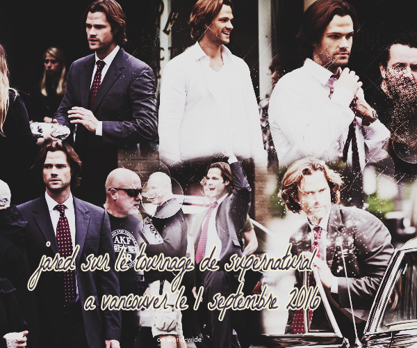 Candids de Jared Padalecki en 2016 on World-wide