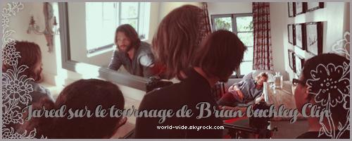 Jared & Genevieve Padalecki dans la video de Brian Buckley Band on World-wide.sky