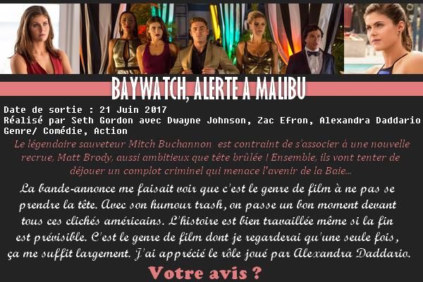 ♦ BAYWATCH, ALERTE A MALIBU