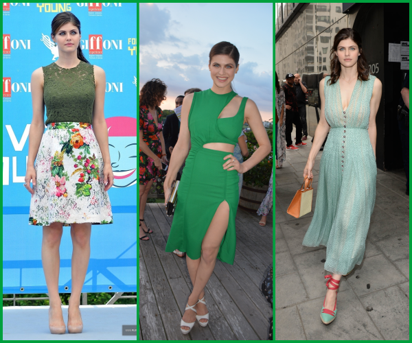 ♦ Quelle(s) tenue(s) verte(s) préférez-vous ?
