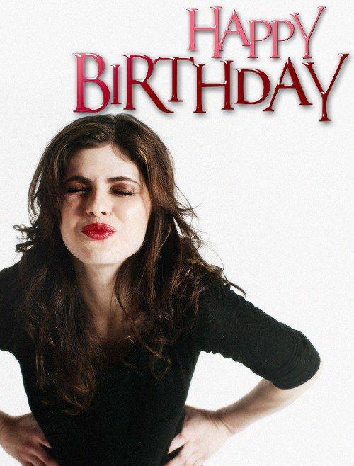 En ce 16 Mars, souhaitons un joyeux 34ème anniversaire à notre belle Alex !