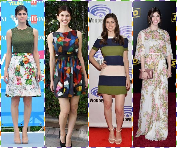 ♦ Quelle(s) tenue(s) multicolores préfèrez-vous ?