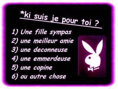 Ki Suis Je Pour Toi??