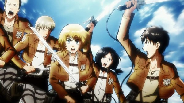 "L'anime du moment...""Shinjeki No Kyojin(Attack On Titan)"""