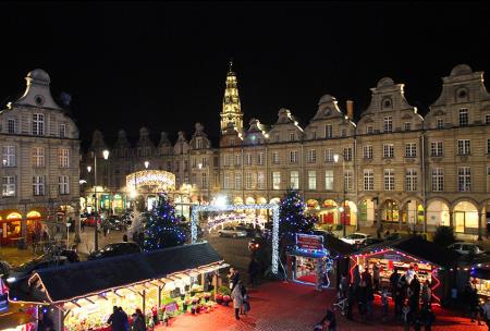 Marché de Noël d'Arras, décembre 2015