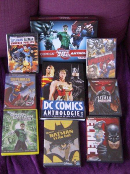 Soldes : DC comics anthologie