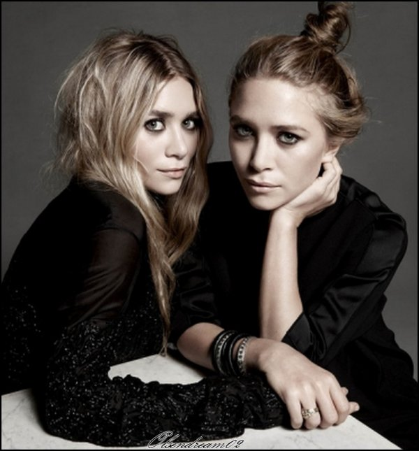 Photo d'Ashley et Mary-kate pour le Wall Street Journal est sortie.