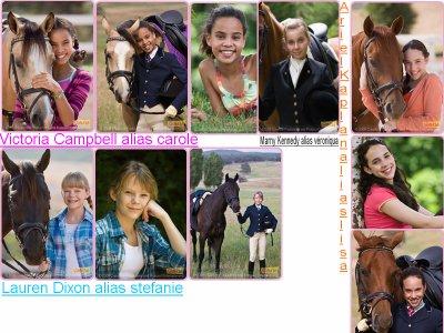 Grand galop saison 3 vive grand galop carole et - Grand galop le cheval volant ...