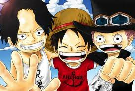 One Piece Ace,Luffy & Sabo