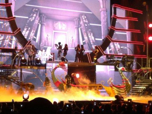 Bill & Tom au concert de Britney Spears