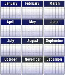 """Officiel Sondage """" mois de l'année """""""