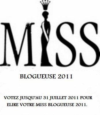 """Officiel-Sondage  """" Miss Blogueuse 2011 """""""