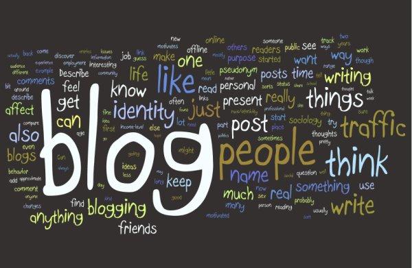"""Officiel sondage : """" Blogging"""""""