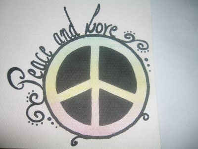 Mes dessins peace and love mes passions - Dessin peace and love ...
