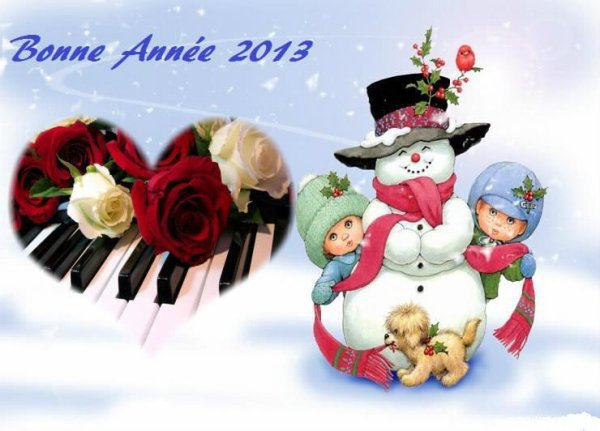 Une très bonne année 2013 a vous tous mes ami(es)