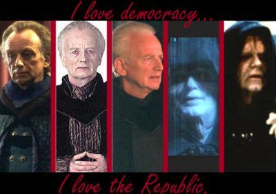 Les personnages de star wars l 39 empereur bienvenue dans mon monde - Personnage star wars 6 ...