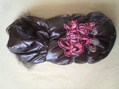 doudoune dobaz taille s couleur marron/rose prix 25¤