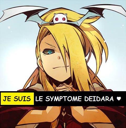 JE SUIS LE SYMPTOME DE DEIDARA ♥