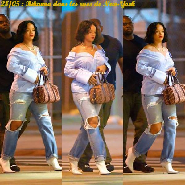 28/05/17 : Rihanna se promenant à New-York