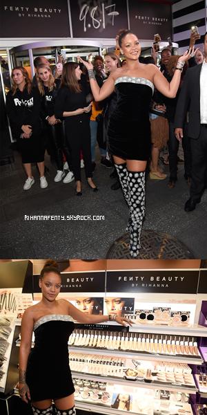 - 07/09/2017 : Lancement Fenty Beauty by Rihanna New-York City Rih' portait une magnifique robe jaune la mettant en valeur, TOP ! -