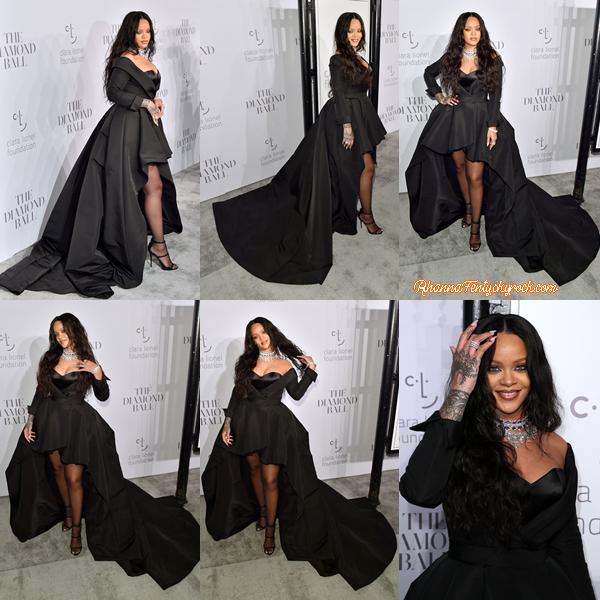 - 14/09/2017 : La sublime barbadienne Rihanna assistait à la 3e Bague Diamond de la fondation Clara Lionel à Cipriani Wall Street, New-York Miss Fenty est juste fabuleuse, TOP ! -