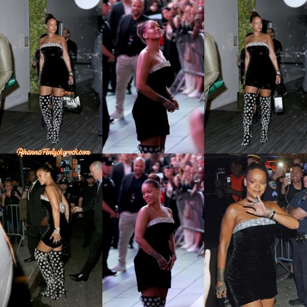 - 07/09/2017 : Rihanna s'est rendue au Sephora Time Square à New-York Miss Fenty fêtait le lancement de sa marque de cosmétique tout en étant classe, top. -