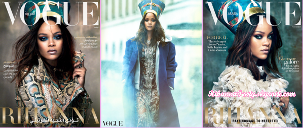 - • Rihanna fait la couverture du magazine « Vogue Arabia » en Novembre 2017 ! -