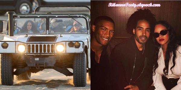 - 10/11/2017 : Rihanna a été photographiée revenant de Los Angeles puis sur le tournage de sa collection SS18 Fenty Puma en Californie.-