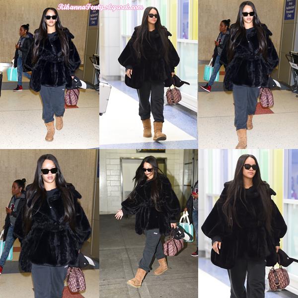 - 16/02/2018 : Rihanna était à l'aéroport JFK de New-York. Les rumeurs d'une éventuelle grossesse sur Riri reprennent encore mais peu importe, elle est trop belle ! -