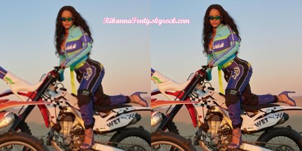 - •SHOOT Rihanna fait la promotion de « FENTYXPUMA » collection Printemps/Eté  2018 ! -