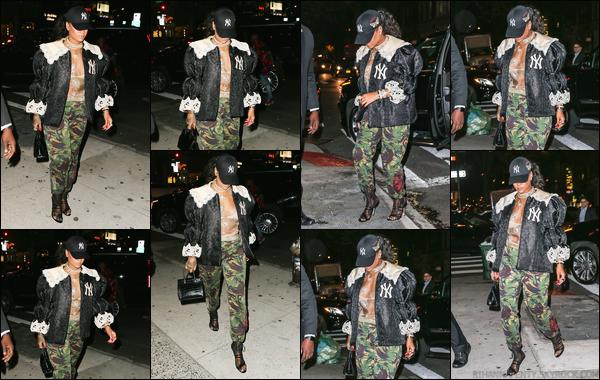 - 05/05/2018 : Rihanna a été aperçue alors qu'elle arrivait à la soirée «Gucci Party » à SoHo, àNew York. -