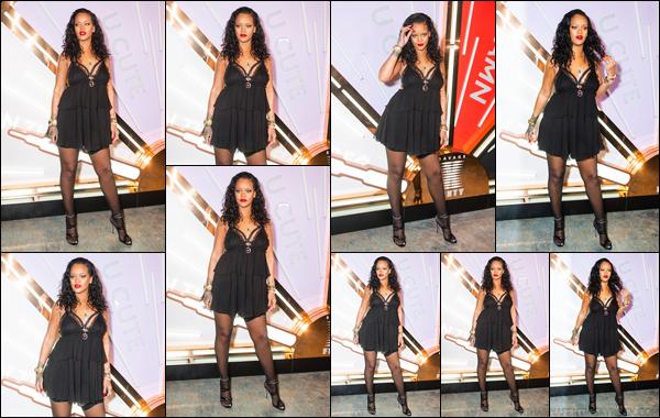 - 10/05/2018 : Rihannaétait présente à la soirée «Savage X Fenty LingerieLaunch Party » àNew York. -