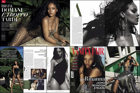 - • Découvrez Rihanna qui pose pour le magazine « Vanity Fair Italia» pour l'édition de Novembre 2018! -