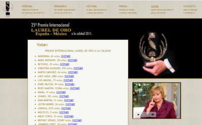 Vota por Justin en los premios Laurel de Oro
