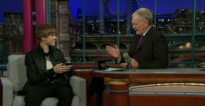 Justin estará hoy en 'The Late Show with David Letterman'