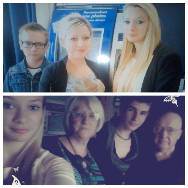 ma famille me manque parfois ... je vous aime