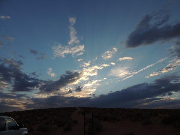 nuage de désert x]