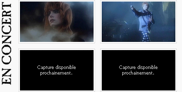 """03. CLIPOGRAPHIE» Période """"En concert""""."""