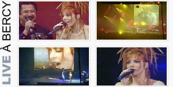 """07. CLIPOGRAPHIE» Période """"Live à Bercy""""."""