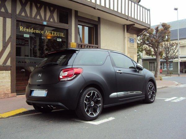 Citroën ds3 série noire