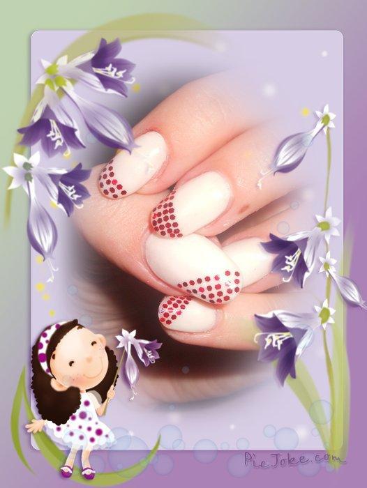 056 ongles en résine blanc