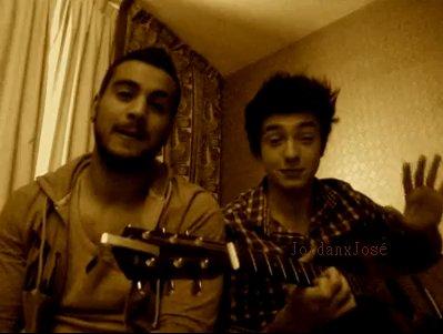Nedjim & Jordan (à la guitare) :  Just the two of us