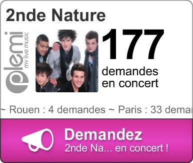 Demandez 2nde Nature en concert à Rouen SVP (faites le pour moi) :D