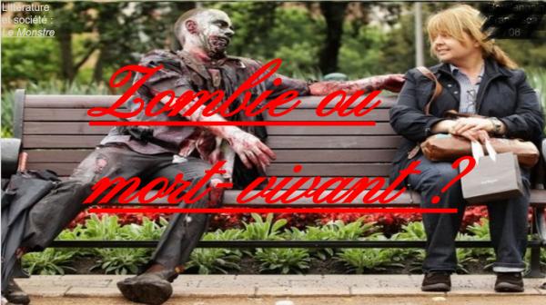 Le zombie mon 1er ⚠M⚠!