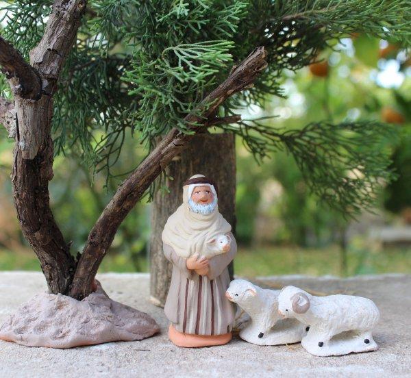 CREATION 2017 LE BERGER BIBLIQUE ET LE PELERIN