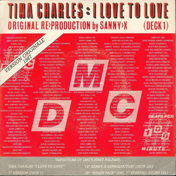 "1976 - TINA CHARLES - ""I LOVE TO LOVE"""
