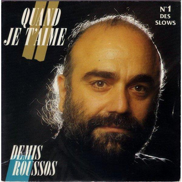 1987 - DEMIS ROUSSOS - ''QUAND JE T'AIME''