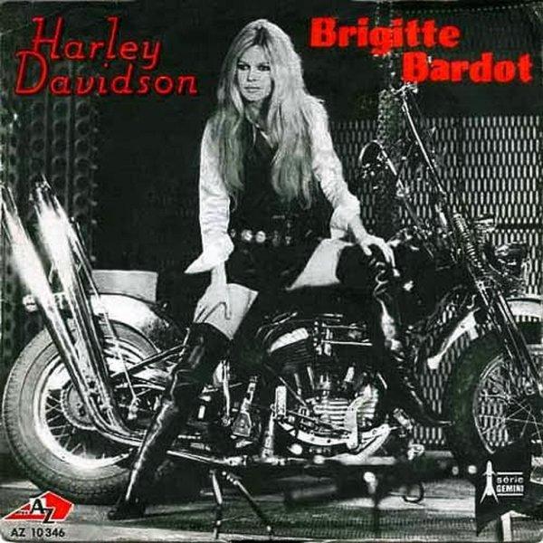 1967 - BRIGITTE BARDOT - ''HARLEY DAVIDSON''